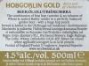 Hobgoblin Gold ▶ Gallery 896 ▶ Image 6194 (Back Label • Контрэтикетка)