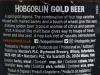 Hobgoblin Gold ▶ Gallery 896 ▶ Image 10446 (Back Label • Контрэтикетка)