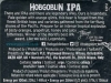 Hobgoblin India Pale Ale ▶ Gallery 1861 ▶ Image 10658 (Back Label • Контрэтикетка)