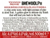 Brewdolph ▶ Gallery 1828 ▶ Image 5631 (Back Label • Контрэтикетка)