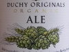 Duchy Originals Organic Ale ▶ Gallery 44 ▶ Image 113 (Label • Этикетка)