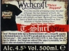 Wychcraft ▶ Gallery 519 ▶ Image 5325 (Back Label • Контрэтикетка)