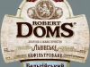 Robert Doms Бельгiйський ▶ Gallery 1397 ▶ Image 9184 (Label • Этикетка)