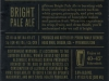 pFriem Bright Pale Ale ▶ Gallery 2839 ▶ Image 9773 (Back Label • Контрэтикетка)