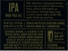 pFriem India Pale Ale ▶ Gallery 2840 ▶ Image 9776 (Back Label • Контрэтикетка)