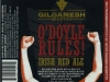 O'Doyle Rules! Irish Red Ale ▶ Gallery 1889 ▶ Image 5866 (Label • Этикетка)